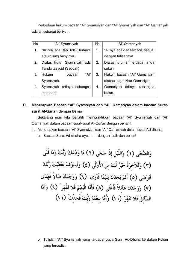 Bab 1 Al Syamsiah Dan Al Qamariah