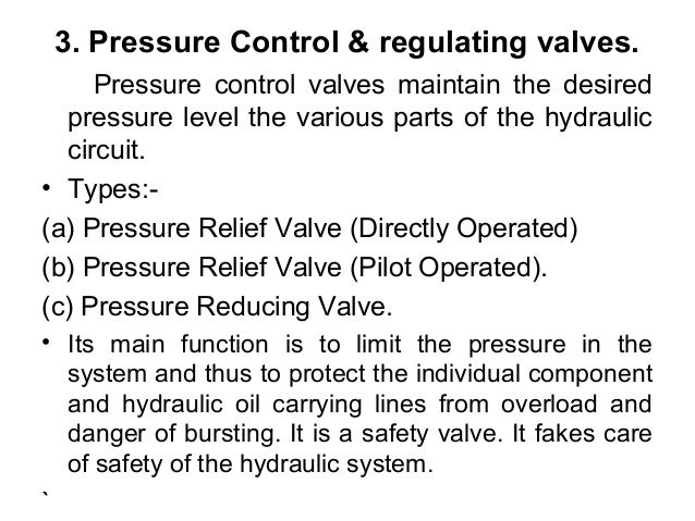 Babic Components Of Hydraulic Amp Pneumatic Systems
