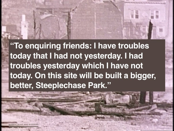 """""""To enquiring friends: I have troubles  today that I had not yesterday. I had  troubles yesterday which I have not  today...."""