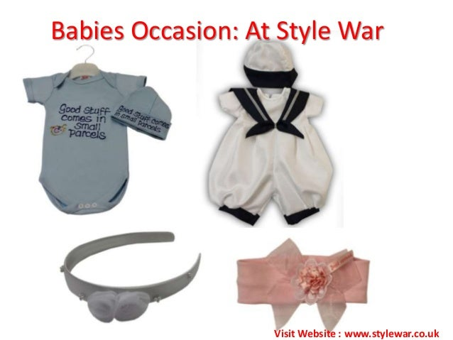 Babies Occasion: At Style WarVisit Website : www.stylewar.co.uk