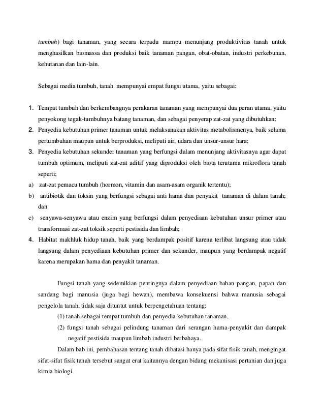 Bab i fisika kimia dan biologi tanah Slide 2