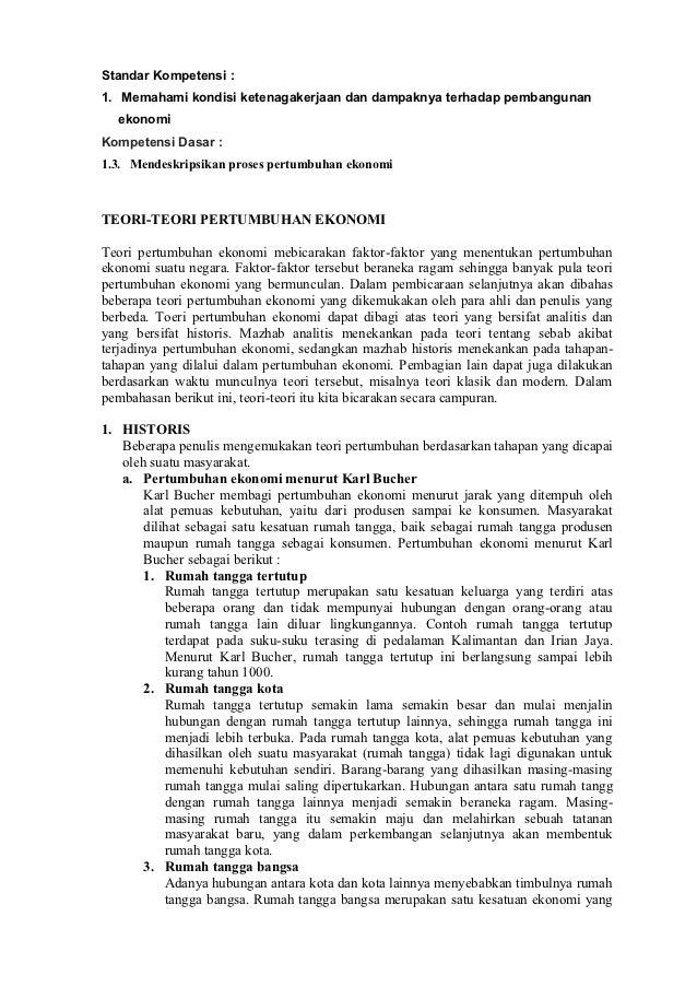Standar Kompetensi :1. Memahami kondisi ketenagakerjaan dan dampaknya terhadap pembangunan  ekonomiKompetensi Dasar :1.3. ...