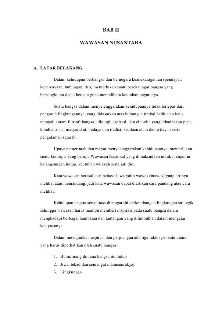 Bab 2 Wawasan Nusantara