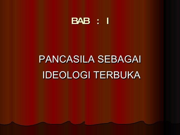 soal essay pkn pancasila sebagai ideologi terbuka