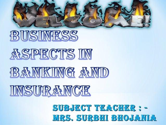 SUBJECT TEACHER : MRS. SURBHI BHOJANIA