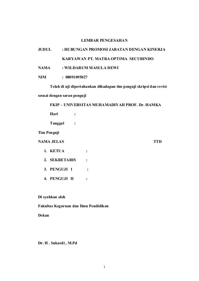 Bab I Promosi Jabatan Revisi Baru