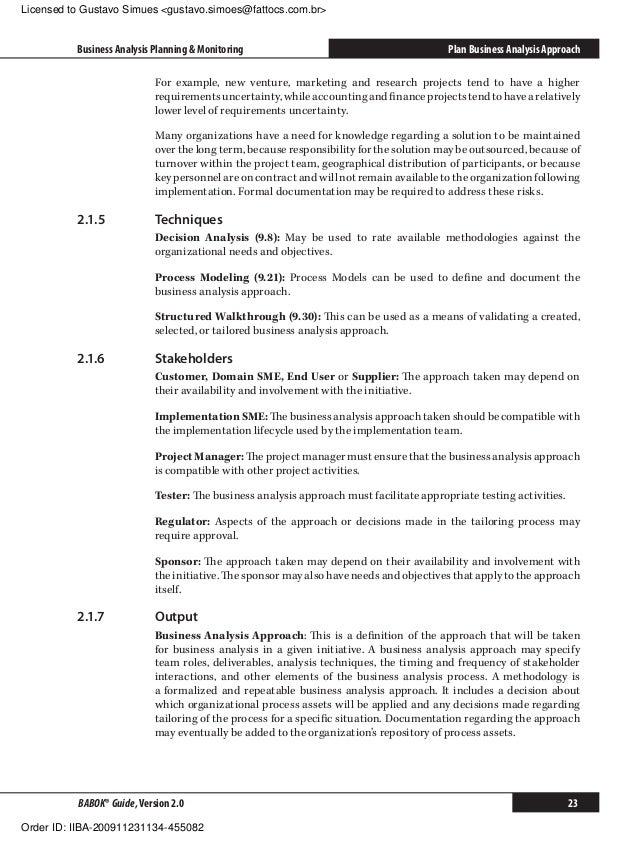 Great Business Analysis Plan Template Gallery Example Resume And - Business analysis plan template