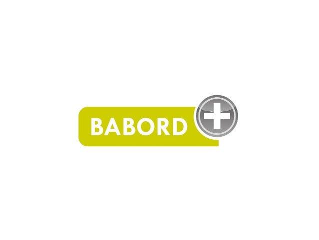 Présentation de Babord+ (interne Bordeaux 3) Slide 2