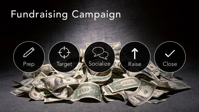 Prep Target Socialize Raise Close Fundraising Campaign
