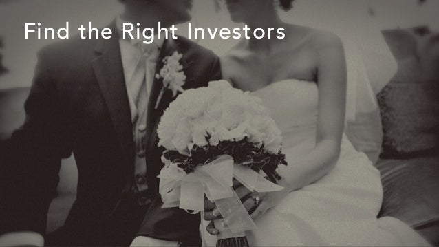Find the Right Investors