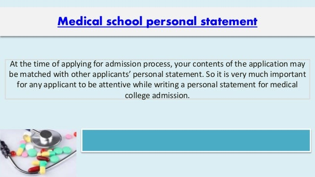 Personal statement on pharmacy