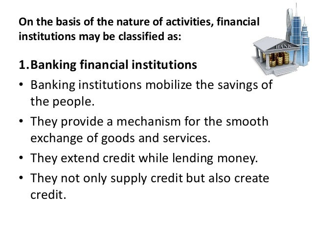 nature and role of financial system ppt