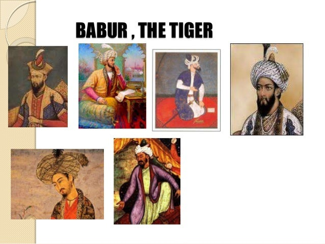 Babur Founder Of Mughal Empire Map