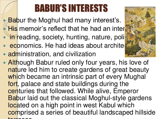 the moghul dynasty essay The essays deal mainly with when the mughal empire was at the height of its political power and when the visual arts were used deliberately to promote.
