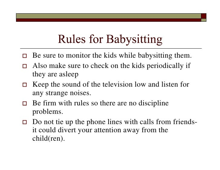 adult baby rules