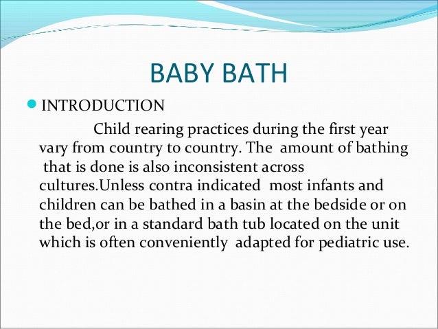 the childs bath analysis