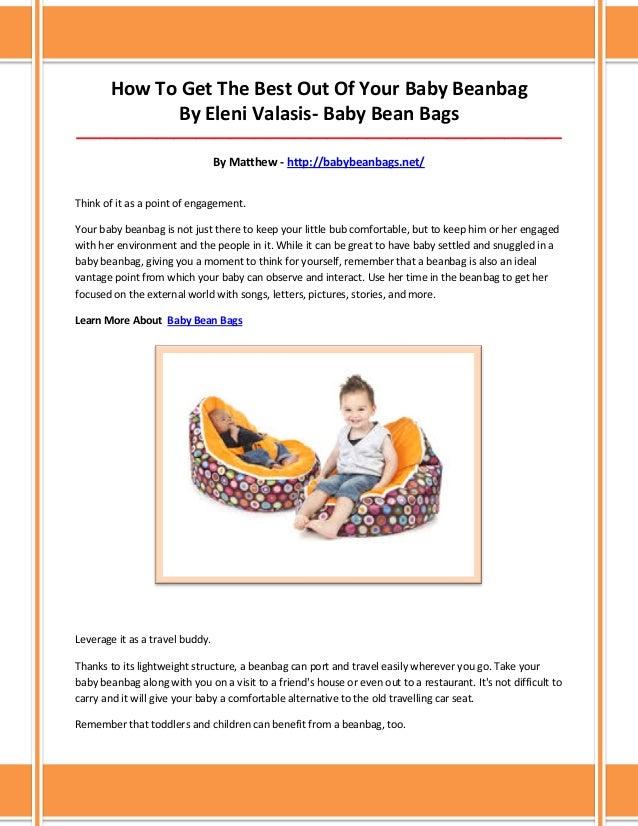 Marvelous Baby Bean Bags Creativecarmelina Interior Chair Design Creativecarmelinacom