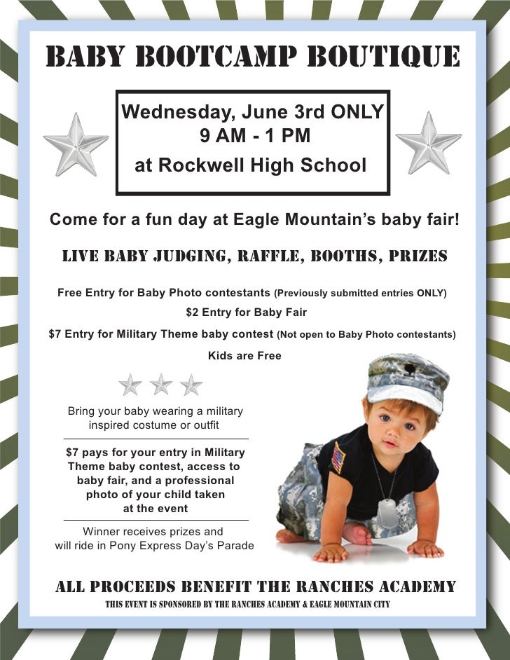 Baby Boutique Flyer