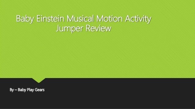 baby einstein musical motion activity jumper instructions