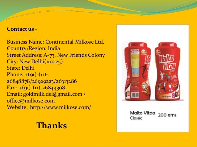 Baby food in wholesale, healthy drink in india at milkose