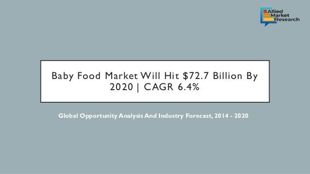 Current Food Trends 2020.Baby Food Market Current And Future Trends