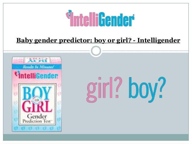 Baby Gender Predictor: Boy or Girl? - Intelligender