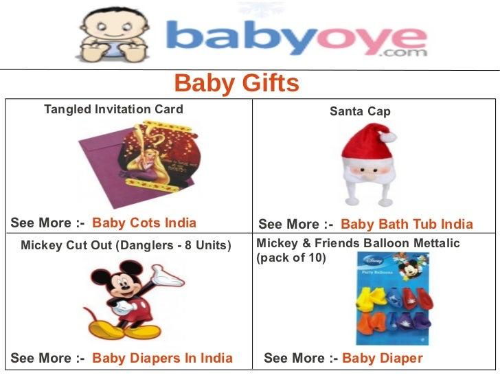 Baby Gifts     Tangled Invitation Card                      Santa CapSee More :- Baby Cots India            See More :- Ba...