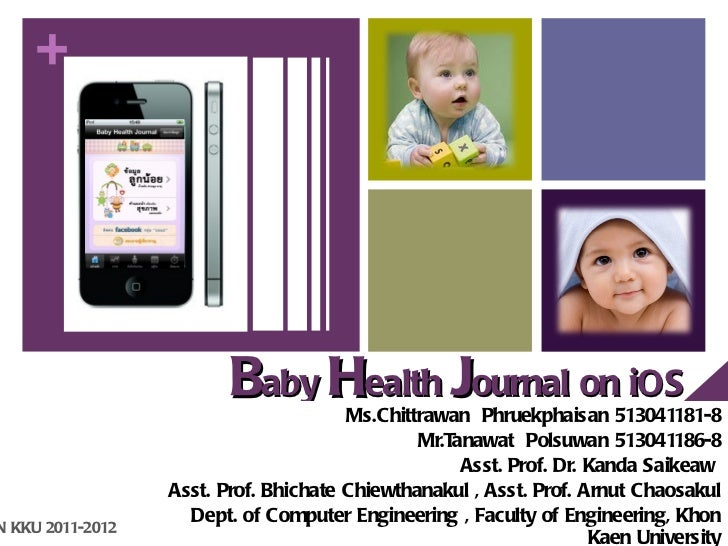 +                         Baby Health Journal on iOS                                       Ms.Chittrawan Phruekphaisan 513...