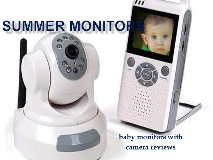baby monitors with  camera reviews