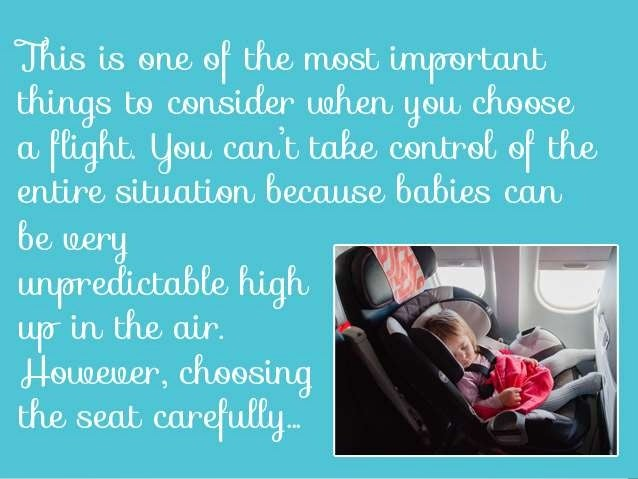 How To Travel With A Baby On Board