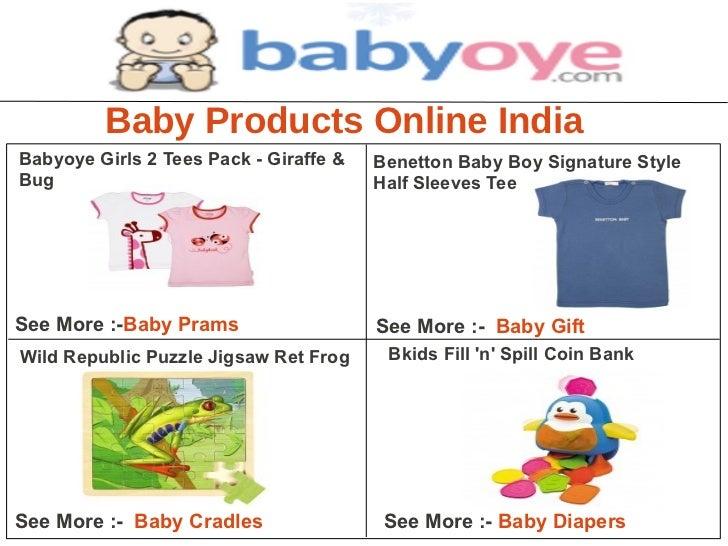 Baby Products Online IndiaBabyoye Girls 2 Tees Pack - Giraffe &   Benetton Baby Boy Signature StyleBug                    ...