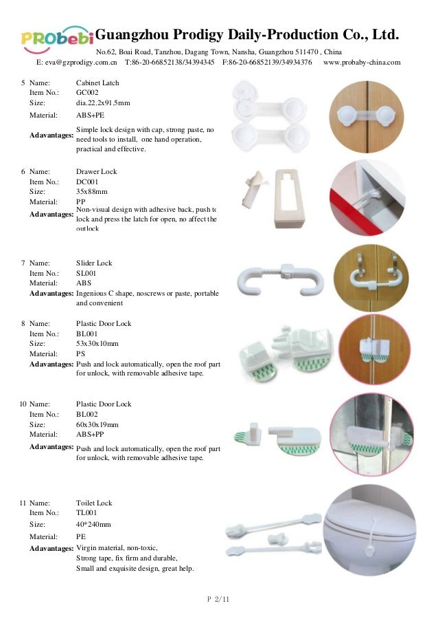 Baby safety products introduction small items great help for A bathroom item that starts with p