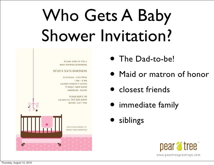 Baby Shower And Baby Announcement Etiquette How To