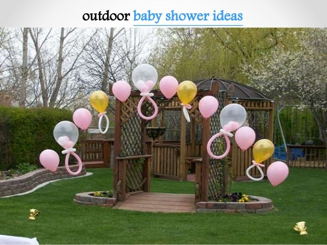 ... 5. Outdoor Baby Shower ...