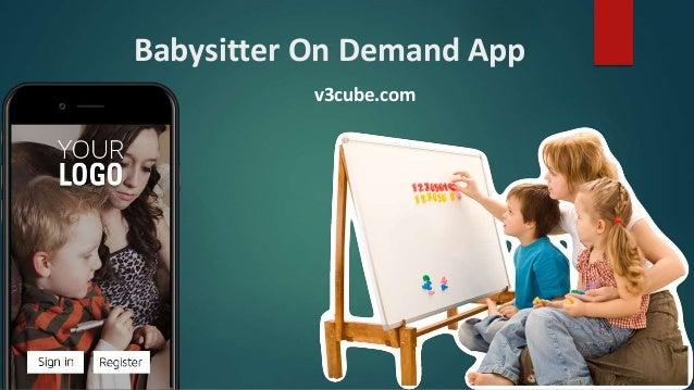 Babysitter On Demand App v3cube.com