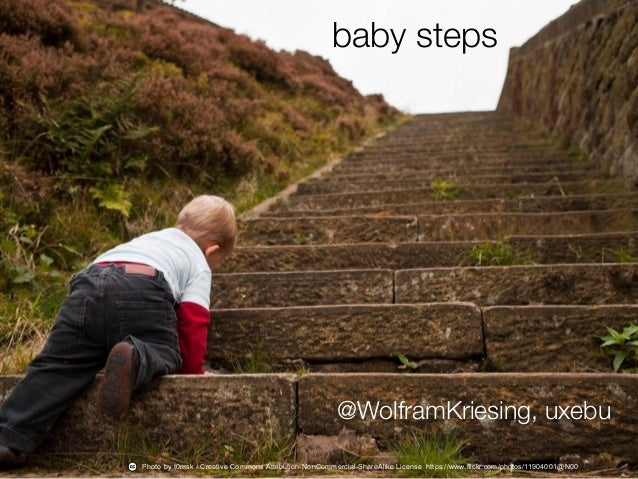 …img baby steps on stairs… Photo by t0msk - Creative Commons Attribution-NonCommercial-ShareAlike License https://www.flic...