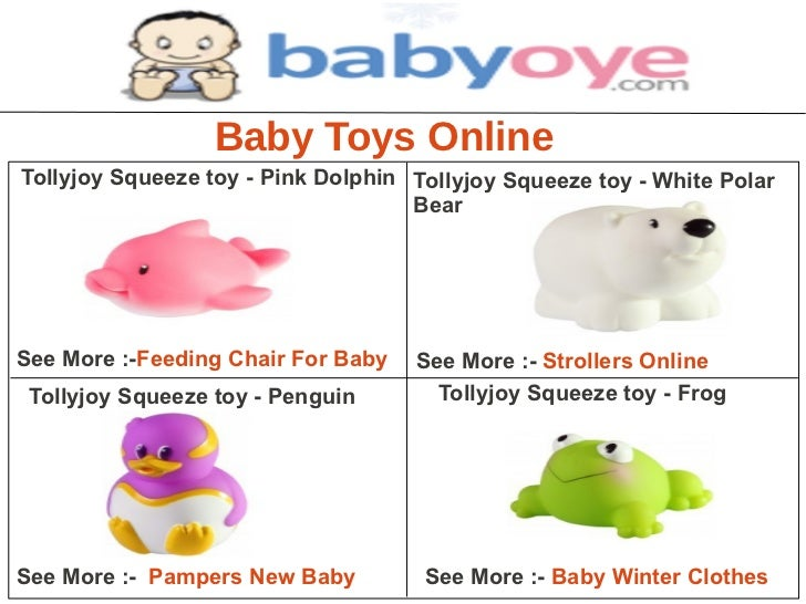 Baby Toys OnlineTollyjoy Squeeze toy - Pink Dolphin Tollyjoy Squeeze toy - White Polar                                    ...
