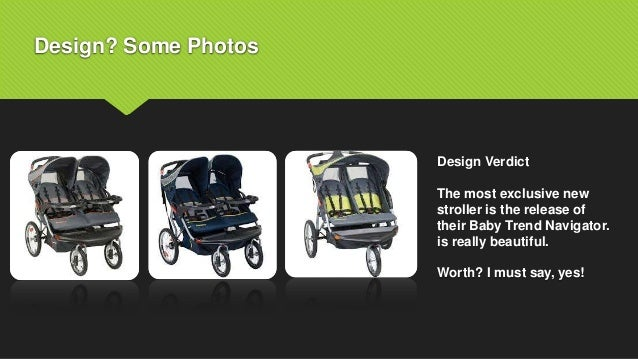 Baby Trend Navigator Double Jogging Stroller By Pickmybabycare 2