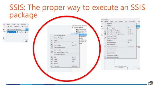 SSIS: The proper way to execute an SSIS package