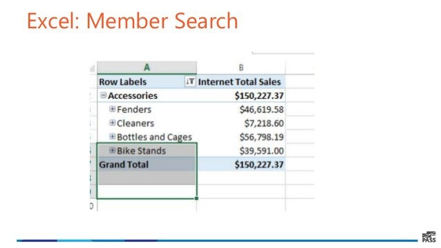Excel: Member Search