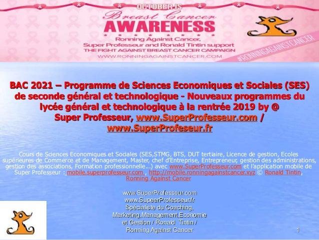 www.SuperProfesseur.com www.SupeerProfesseur.fr Spécialiste du Coaching, Marketing,Management,Economie et Gestion / Ronald...