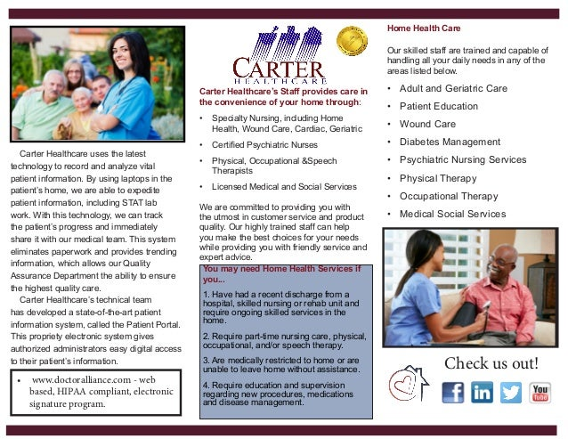 Final Carter Healthcare Brochure
