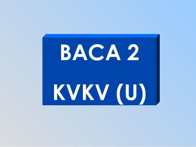 BACA 2KVKV (U)