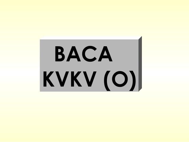 BACAKVKV (O)