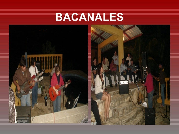 BACANALES