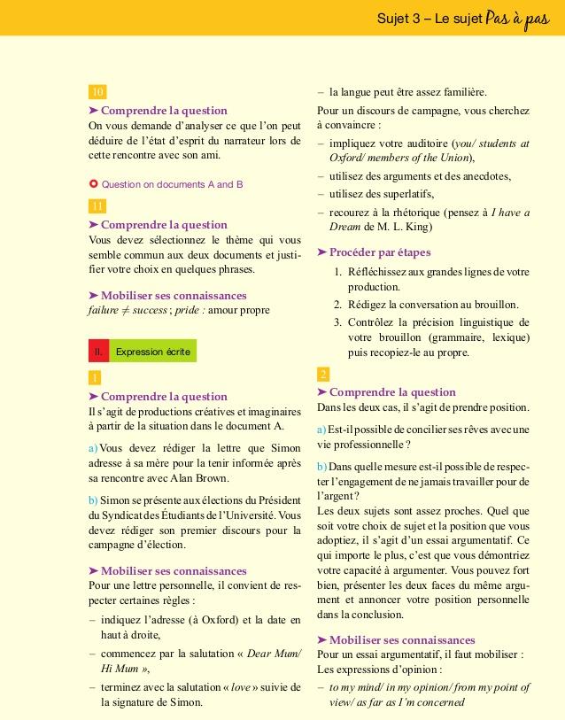 Préférence Bac+blanc+terminale+a1+a2+anglais (1) HB99