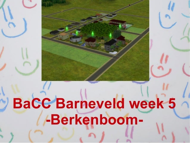 BaCC Barneveld week 5   -Berkenboom-
