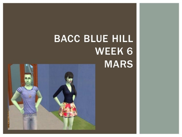 BACC BLUE HILLWEEK 6MARS