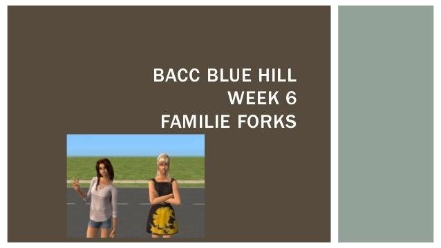 BACC BLUE HILL WEEK 6 FAMILIE FORKS