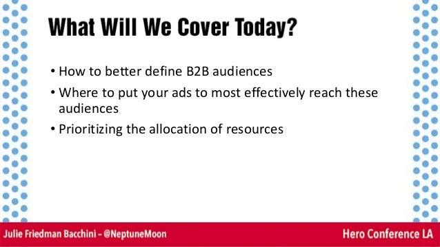 Reaching The Ideal B2B Prospect Slide 3